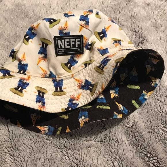 4c7132cda Neff Reversible Garden Gnome Bucket Hat